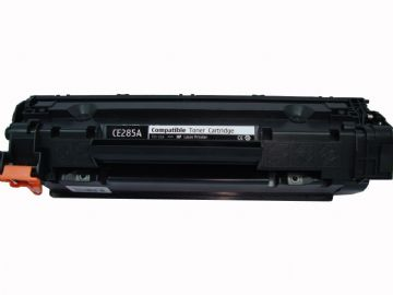 HP CE285A Black Refurbished Toner Cartridge - 85a